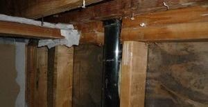 Mold Damage In Joists And Piping