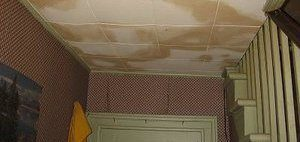 Water Damage Restoration of Ceiling
