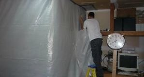 Water Damage Minnetonka Sealing In Mold With A Vapor Barrier